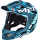 MET Parachute casco per bici blu